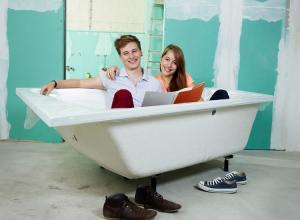 Welches Material ist das Richtige für die neue Badewanne?