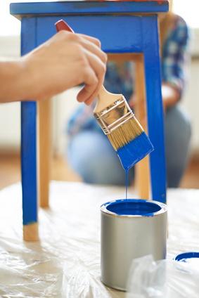 kunststoff furnierte mbel streichen kreidefarbe selber herstellen der test ikea billy in shabby. Black Bedroom Furniture Sets. Home Design Ideas