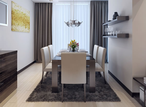 offenes wohnzimmer gestalten: gestalten. vorhang wohnzimmer ideen ...