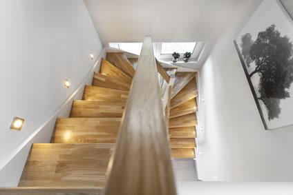 Treppenhaus gestalten  Treppenhäuser zur Geltung bringen
