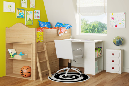 coole ideen f r ein gem tliches kinderzimmer. Black Bedroom Furniture Sets. Home Design Ideas