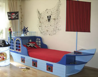 piraten kinderzimmer. Black Bedroom Furniture Sets. Home Design Ideas