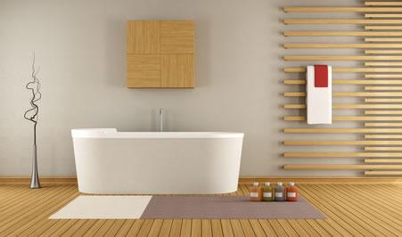 Wandgestaltung Mit Holz Wandgestaltung Im Badezimmer