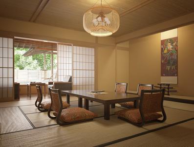 japanische möbel » fernöstliche einrichtung entdecken, Esszimmer dekoo