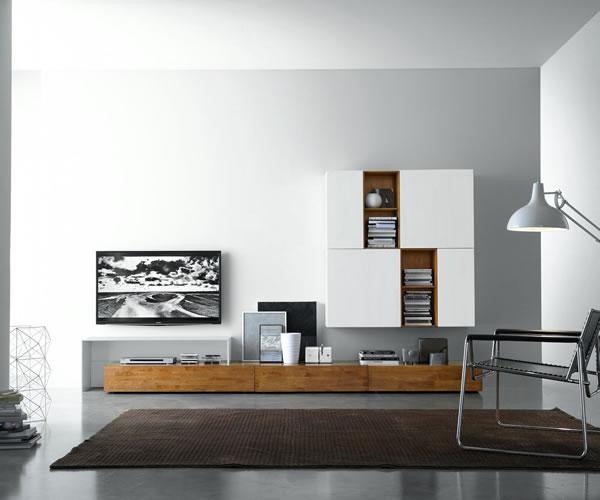 Die moderne Wohnwand 2016
